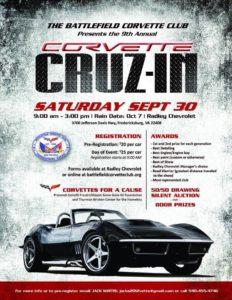 Battlefield Corvette Club Cruz-In